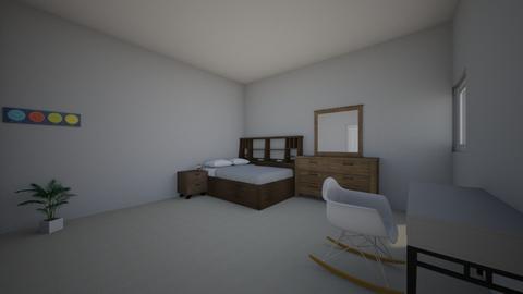 Chambre - Bedroom  - by JonasGreene