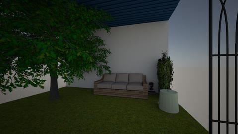 Redesigning school - Garden  - by taromilk