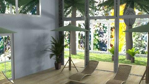 indoor pool - Eclectic - Garden  - by katie xxxxx