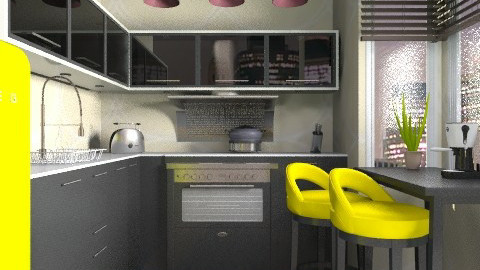 Little Modern - Modern - Kitchen  - by channing4