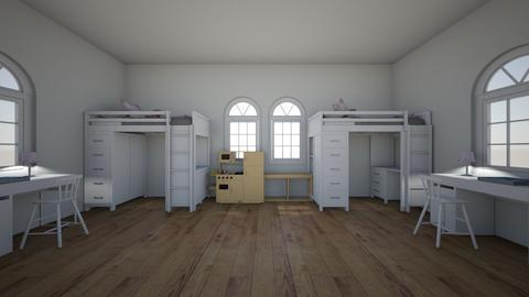 Shared Kids Bedroom - Kids room  - by queen c