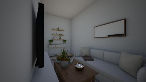 Living Room  - Rustic - Living room  - by brookealexis98