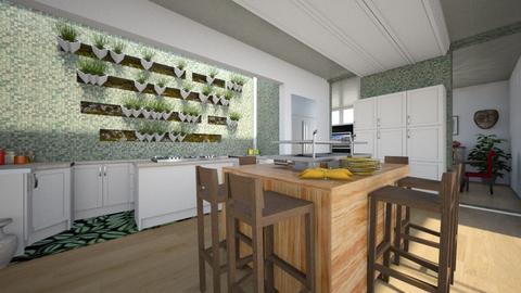 Modern Playful Kitchen - Kitchen - by ElleP