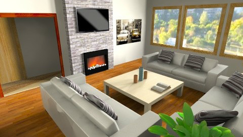 House2_01 - Modern - Living room - by Facundo Hernandez