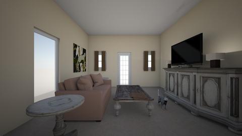 Living Room - Living room  - by NoranGhannoum