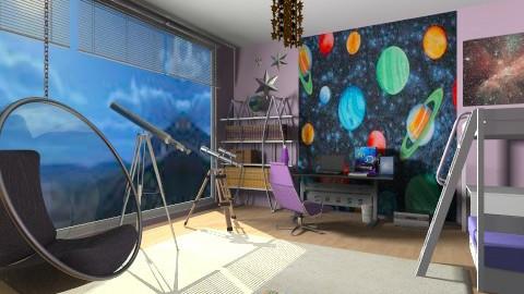 STAR GIRL - Kids room  - by ANAAPRIL