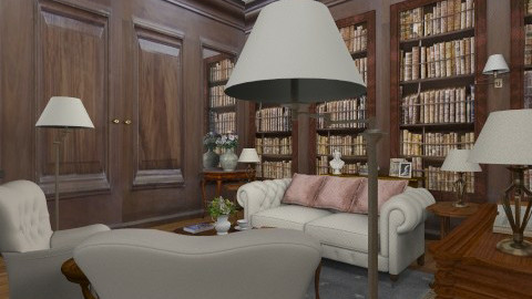 __Home library_tiig_ - by _Taz_
