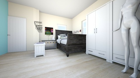 Morrow - Bedroom - by HyperDino