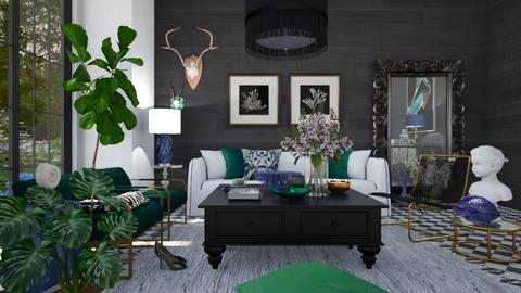 2021 - Eclectic - Living room  - by RonRon