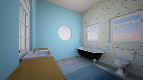 modern bathroom - Bathroom  - by IToufexis