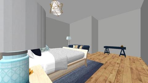 Blue Bedroom - Bedroom  - by phoga21