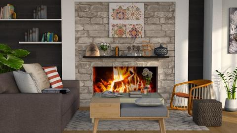 Nice and Cozy - Modern - Living room  - by millerfam