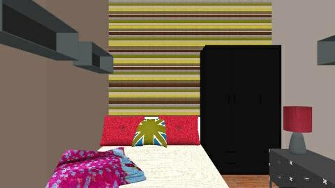 joe bedroom - Retro - Bedroom  - by hobojoe