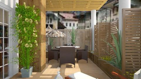 balcony - Garden  - by rasty