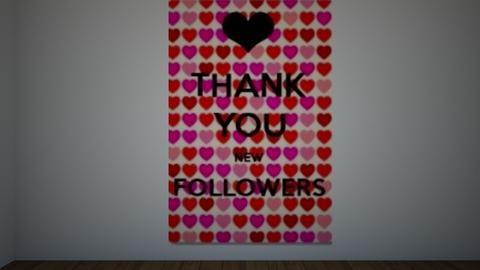Thank You Followers - by theIrishdog