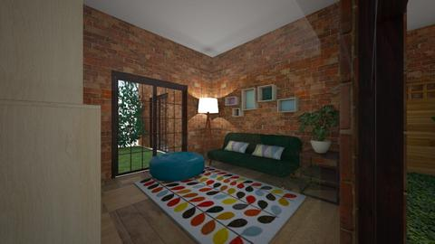 brick house 1st floor - Rustic - by dhita