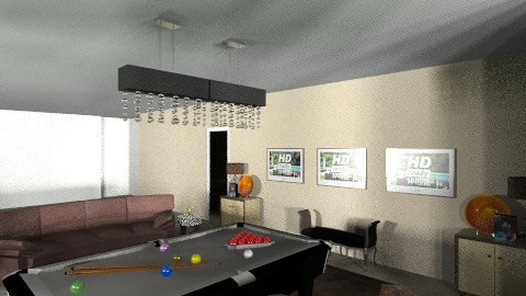 Muscati_Game Modern - Modern - Living room - by pdsmatt