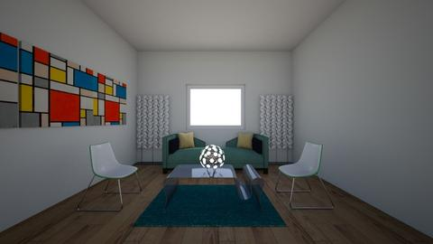 Modern room - Living room  - by alexandrarojas05