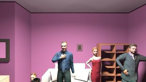 jem's creation - Living room - by Mya