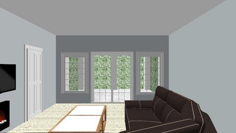 fireplace Basement - Living room  - by Floridapanther