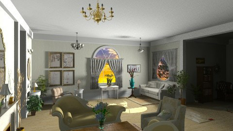 style - Glamour - Living room  - by GALE88