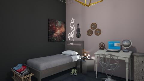 teen nerd dream room   - Bedroom  - by kballard