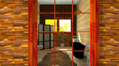 Modern Cabin  - Rustic - by decordiva1
