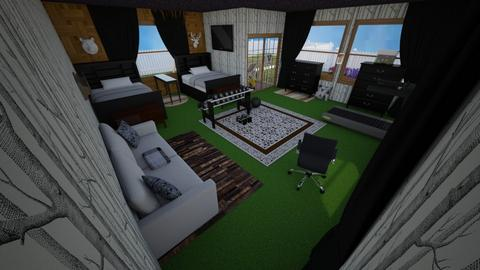 twin room - Modern - Bedroom  - by Keith Urban