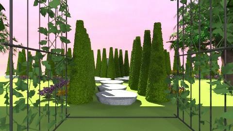 garden - Classic - Garden  - by ncampbell944