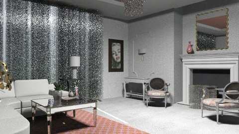 hollywood - Glamour - Living room  - by mywishlr
