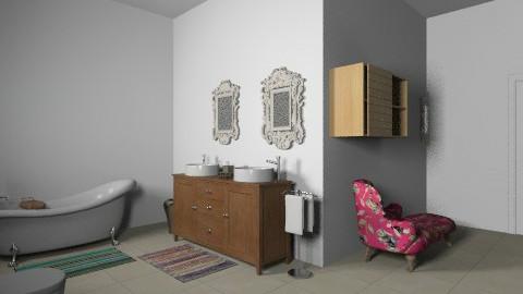 Broom1  - Glamour - Bathroom  - by missyd405