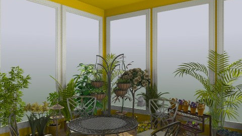 oasis - Vintage - Garden  - by deleted_1550519236_sorroweenah