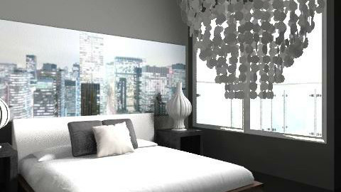 City lights - Modern - Bedroom  - by sportjunky