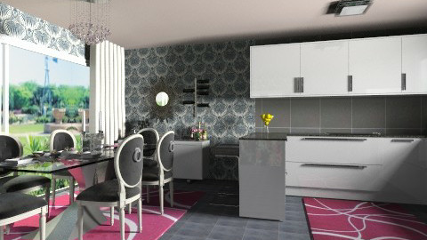 Glamour room - Glamour - Kitchen  - by Caci86