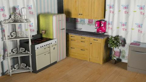 The perfect little kitchen. - Country - Kitchen  - by heehee