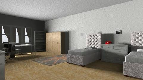 Room - Retro - by KarinaBeatle