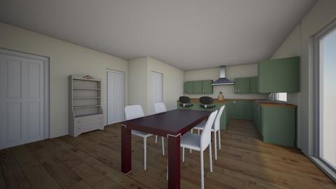 Kitchen_IntoGarageRemove2 - Kitchen  - by adamshindler