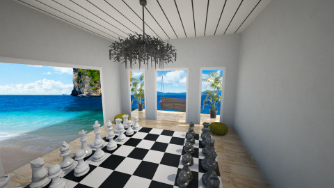 The room of chess - Modern - by jeushalumley