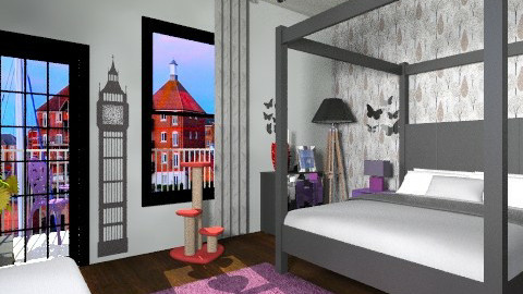 glamour bedroom - Glamour - Bedroom  - by silvye