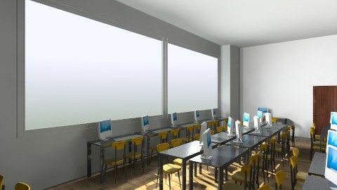 Class Room C206 config2 - Minimal - Office  - by bwebox