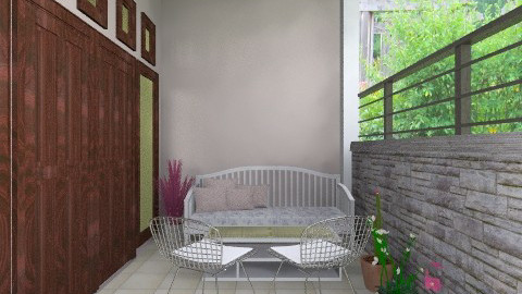 chicky verandah - Classic - Garden  - by Veny Mully
