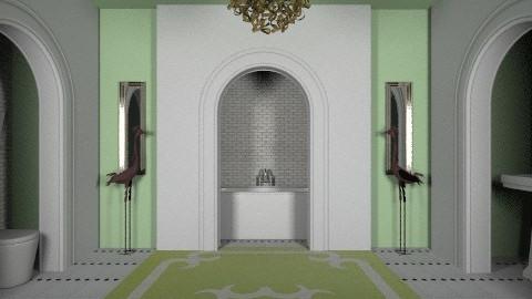 The Shining inspired bath - Vintage - Bathroom - by crystal aston