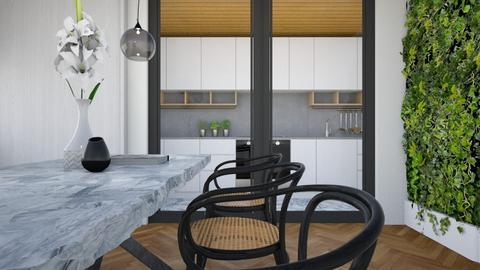kitchen diner  - Dining room  - by evemorgan96
