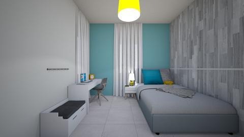 shoham room - Modern - Kids room  - by yisca