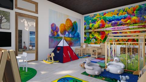 play space - Kids room  - by Amyz625