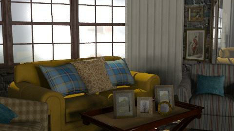 retro - Retro - Living room  - by chania