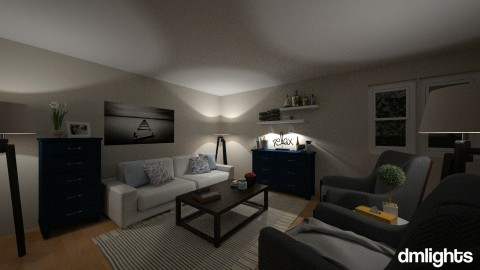 cocktail hour - Living room - by DMLights-user-1383470