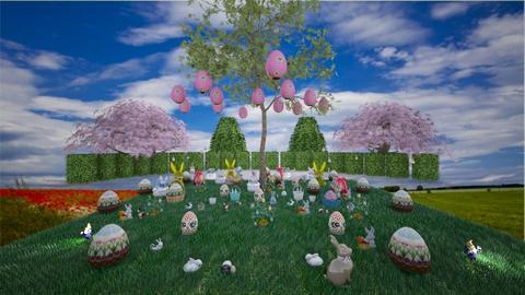 Easter hiding - Feminine - Garden  - by Louisa caulton
