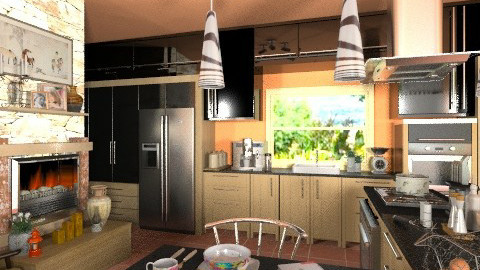 Heart of the House - Modern - Kitchen  - by Bibiche