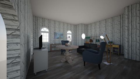 three unicorn living room - Living room - by ARH228